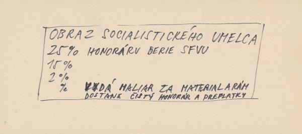 Július Koller – Archív JK/Obraz socialistického umelca