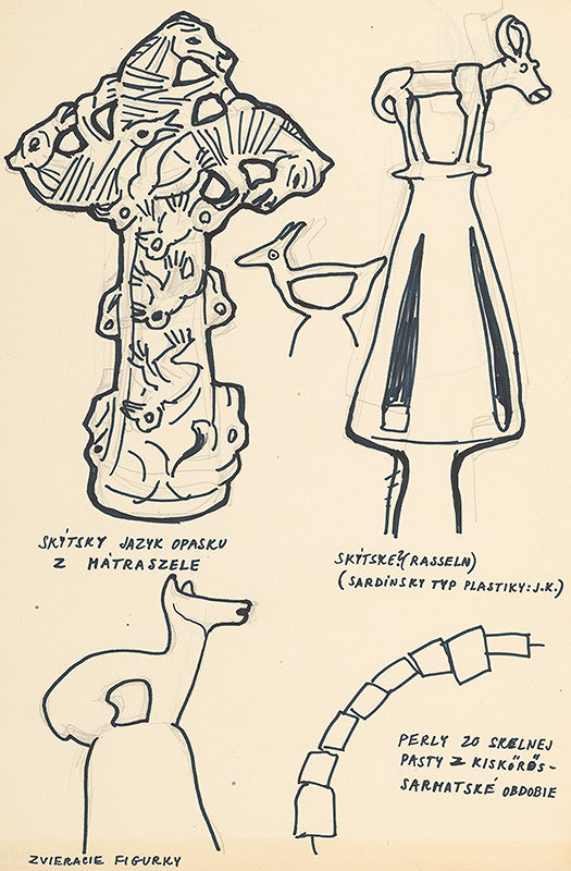 Július Koller - Archív JK/Keltské kresby