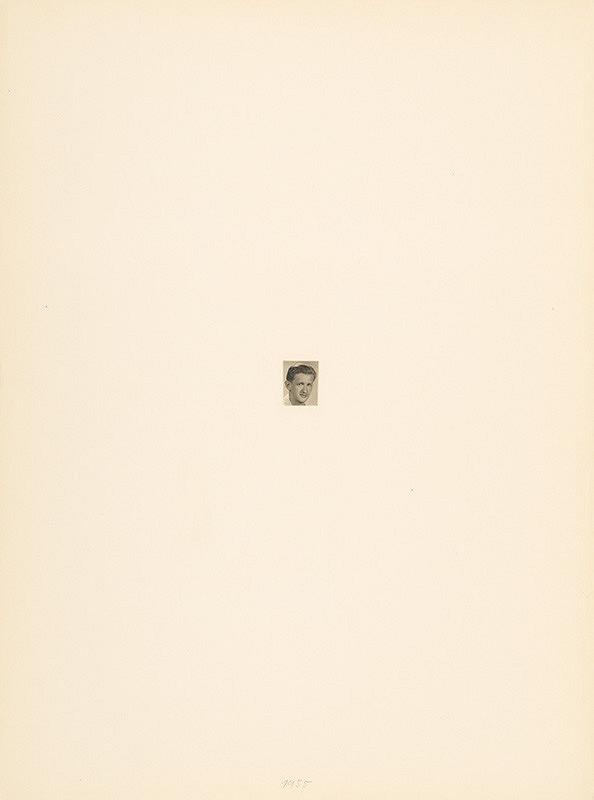 Július Koller – Archív JK/Portrét JK 1955