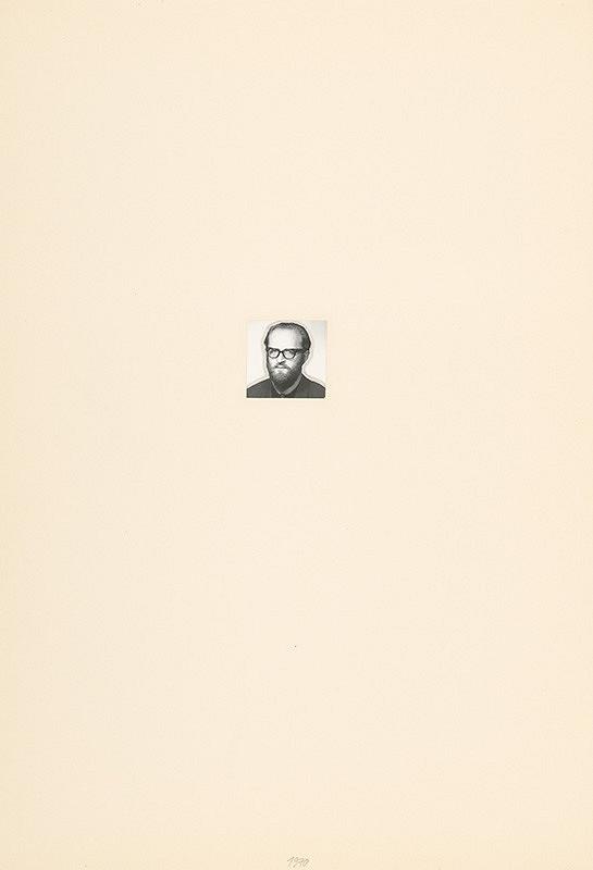 Július Koller – Archív JK/Portrét JK 1970