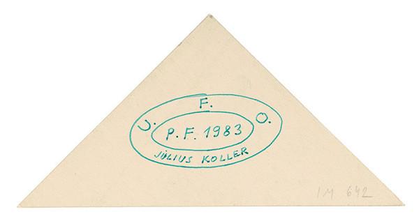 Július Koller – U.F.O. P.F. 1983