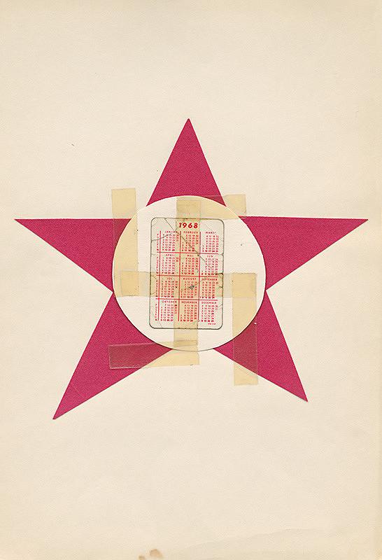 Július Koller – Bez názvu (1968)