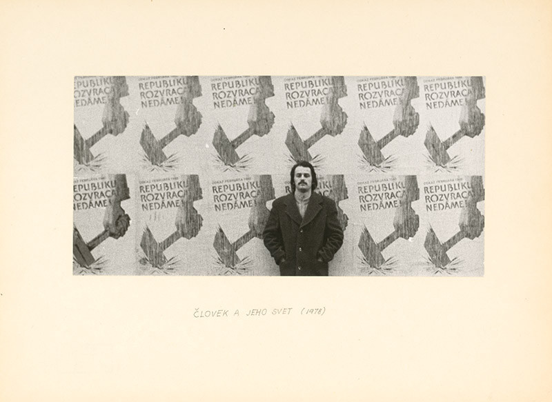 Ľubomír Ďurček – Človek a jeho svet, 1978, Slovenská národná galéria