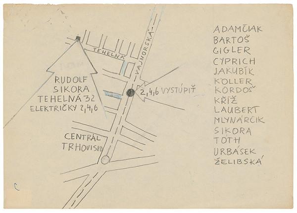 Rudolf Sikora - Návrh pozvánky na I. Otvorený ateliér. Work in progress (2)