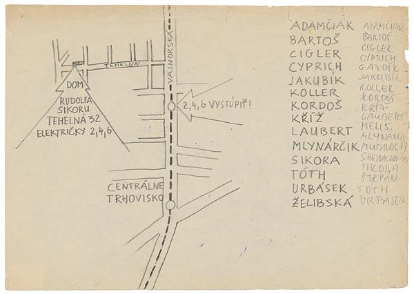 Rudolf Sikora - Návrh pozvánky na I. Otvorený ateliér. Work in progress (4)