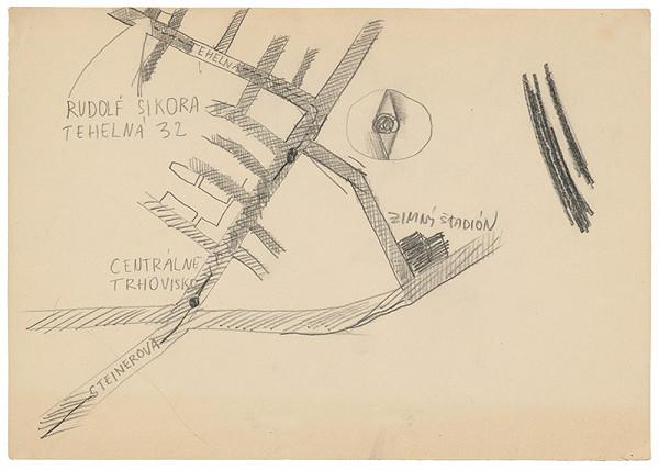 Rudolf Sikora - Návrh pozvánky na I. Otvorený ateliér. Work in progress (5)