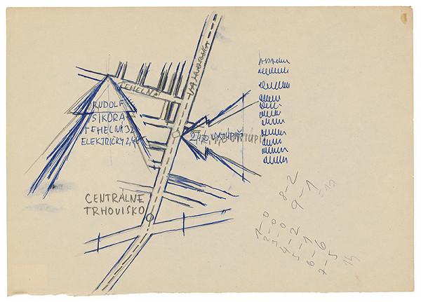 Rudolf Sikora - Návrh pozvánky na I. Otvorený ateliér. Work in progress (7)