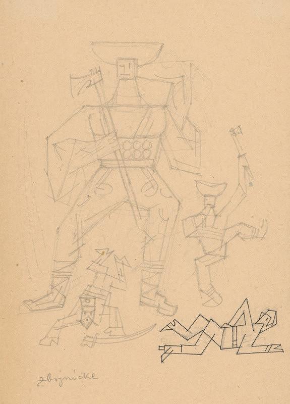 Ľudovít Fulla - Tancujúci zbojníci