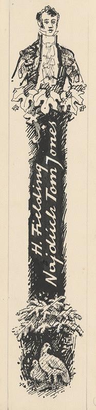 Ľudovít Fulla – Kresba na chrbát obálky