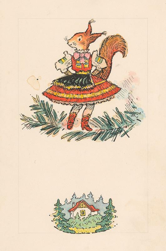 Ľudovít Fulla - Tanečnica