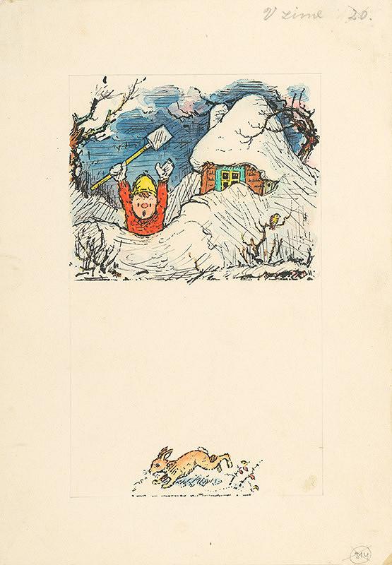 Ľudovít Fulla – V zime