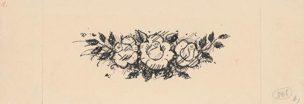 Ľudovít Fulla – Koncovka tri ruže