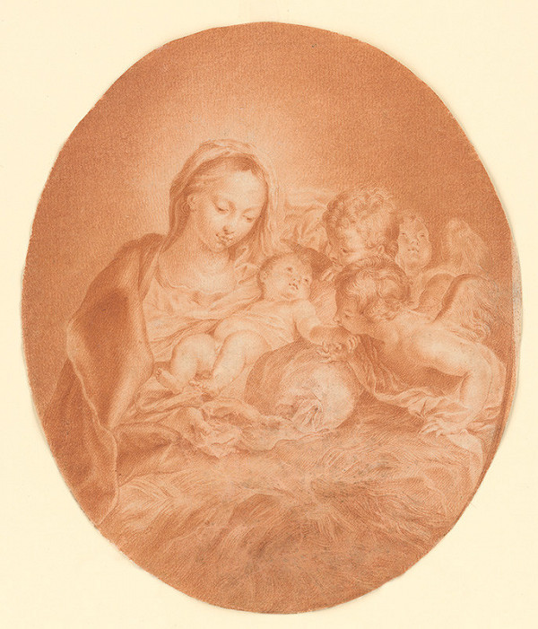 Carlo Maratti - Madona s dieťaťom
