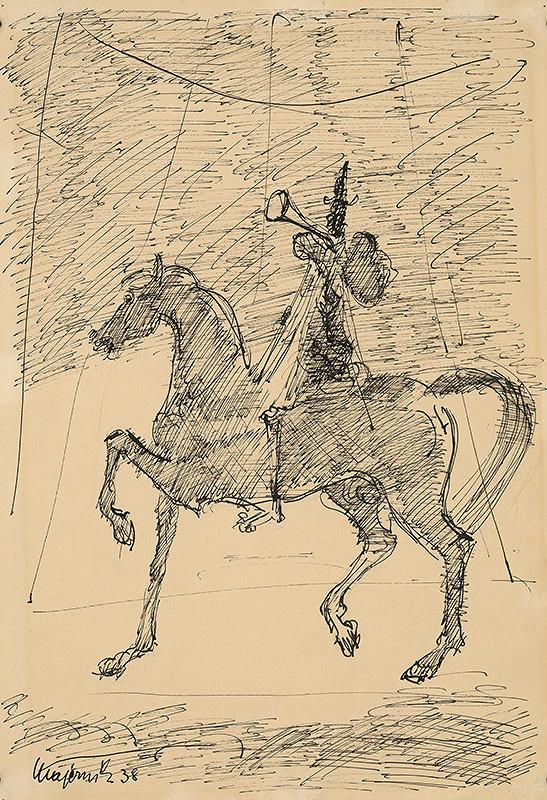 Cyprián Majerník - Šašo na koni