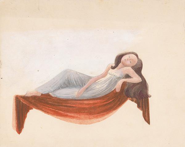 Viera Žilinčanová - Spiaca