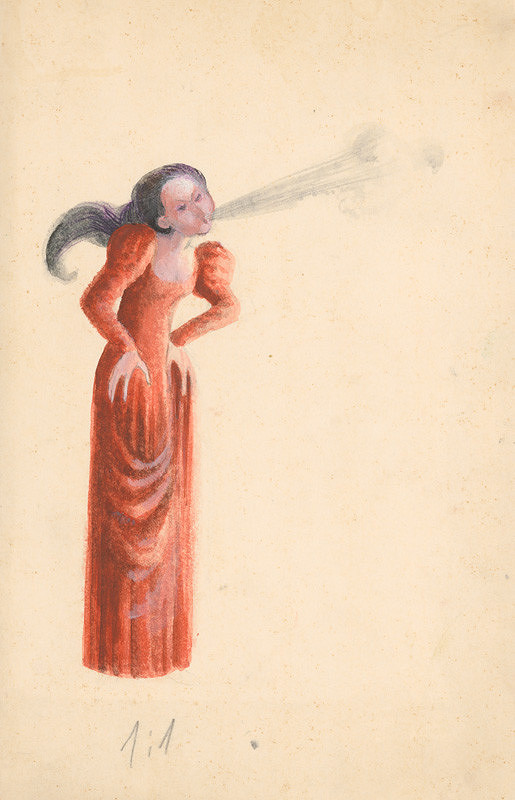 Viera Žilinčanová – Fúkajúca žena