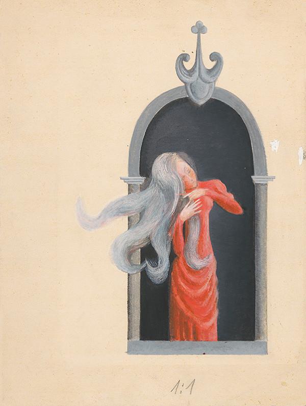 Viera Žilinčanová - V okne