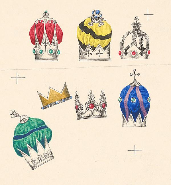 Albín Brunovský – Kráľovské koruny