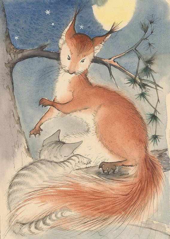 Mária Želibská - Kocúrik a veveričky