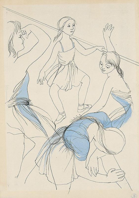 Mária Želibská – Baletky cvičia