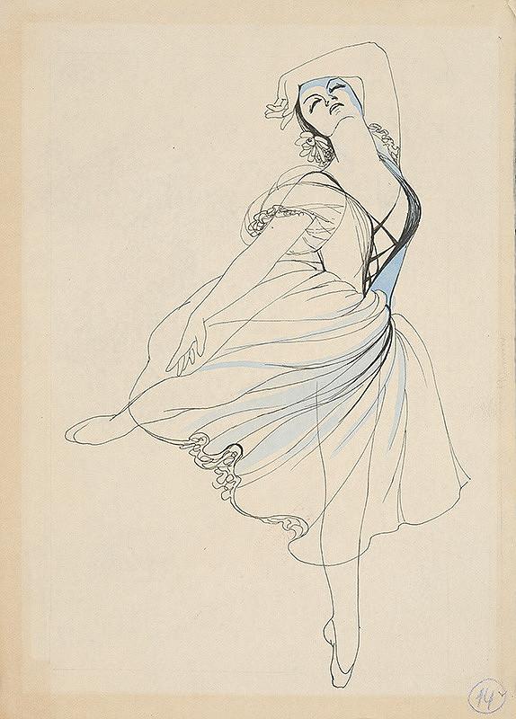 Mária Želibská – Tanec baletky