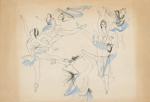 Mária Želibská - Baletné vystúpenie