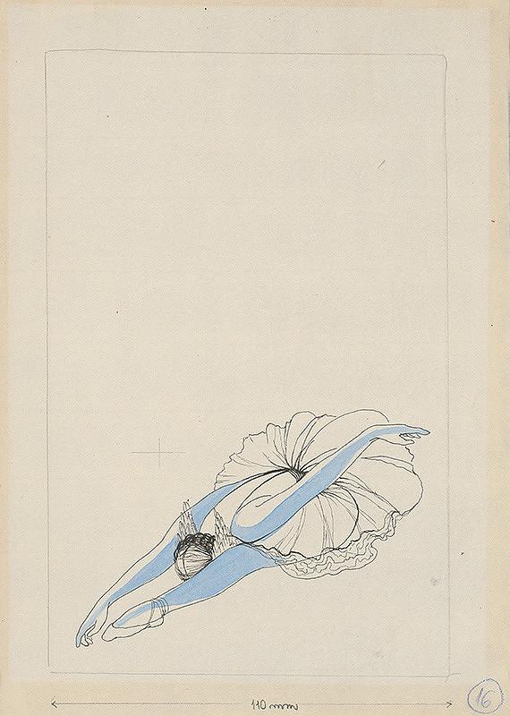 Mária Želibská - Baletka v úklone