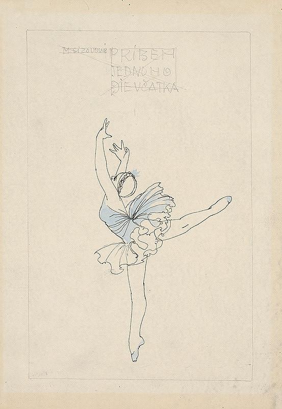 Mária Želibská – Baletka