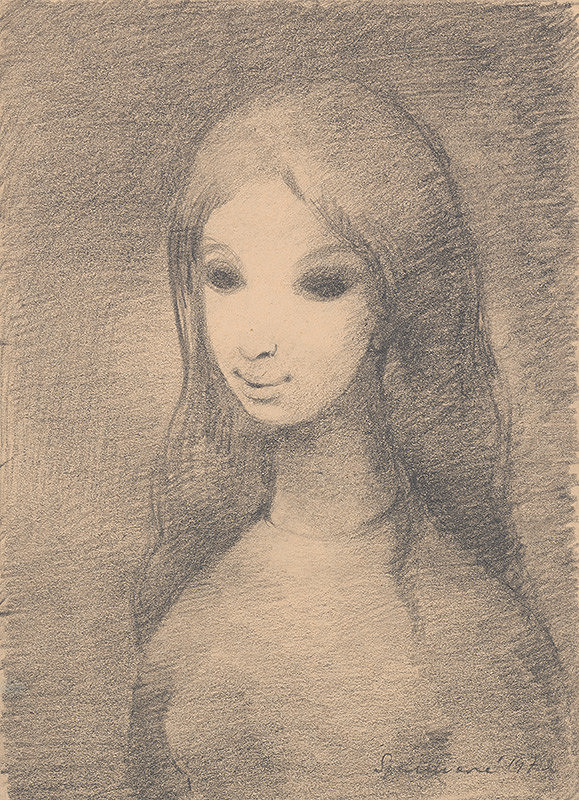 Edita Spannerová - Dievča s dlhými vlasmi