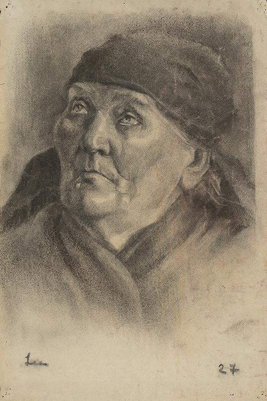 Lea Mrázová - Hlava starej ženy
