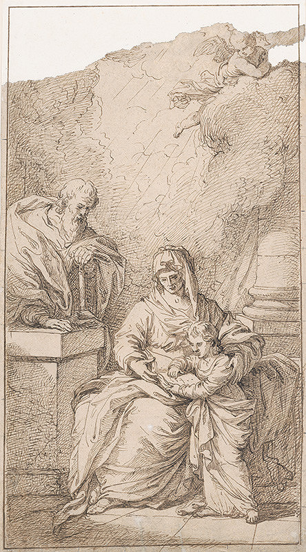 Stredoeurópsky maliar z 18. storočia – Svätá rodina