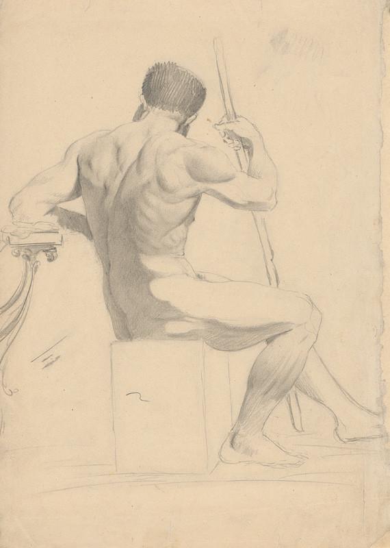 Ján Fadrusz – Štúdia mužského aktu, 1885 – 1890, Slovenská národná galéria