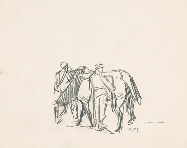 Jaroslav Vodrážka – Muž s koňmi