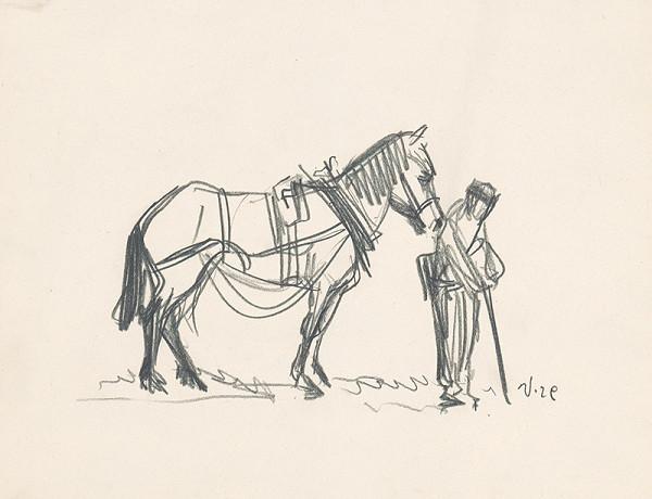 Jaroslav Vodrážka - Muž s koňom