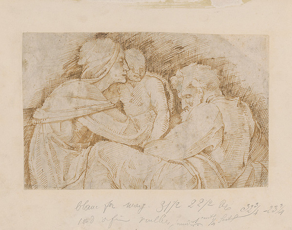 Taliansky autor zo 16. storočia – Svätá Rodina