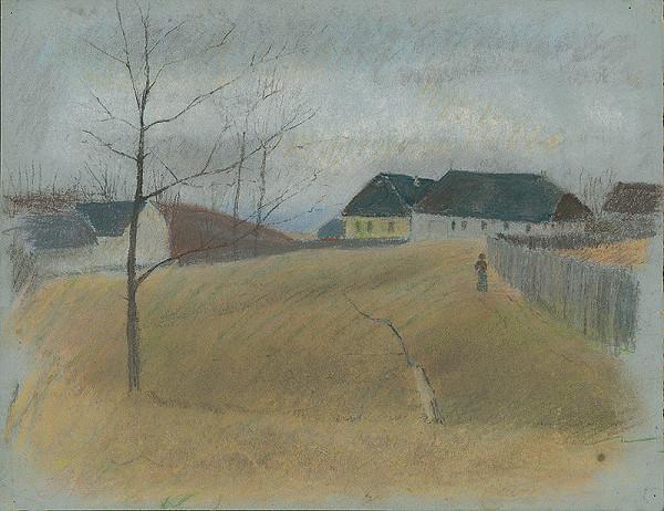 Ladislav Mednyánszky - Na konci dediny