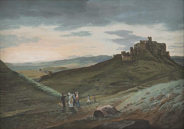 Ján Jakub Müller – Krajina so spišským hradom