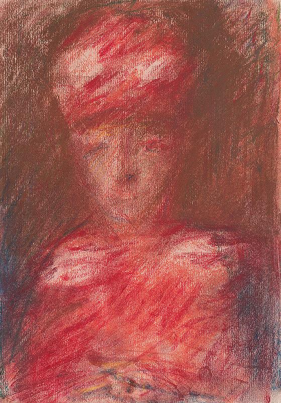 Teodor Tekel - Žena v červenom