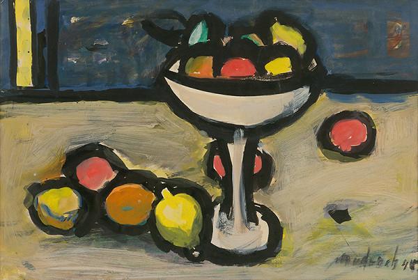Ján Mudroch – Zátišie s ovocím