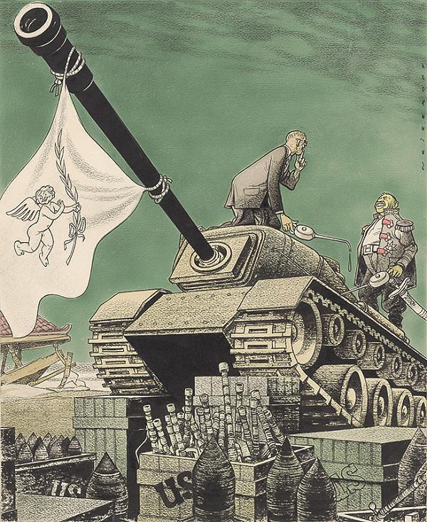 Viliam Weisskopf – Dulles a Li Syn Man zabezpečujú mier v Korei