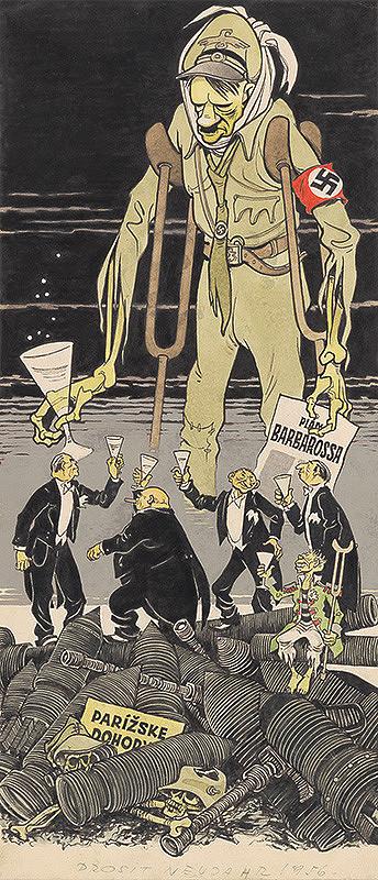 Viliam Weisskopf – Prosit Neujahr 1956!