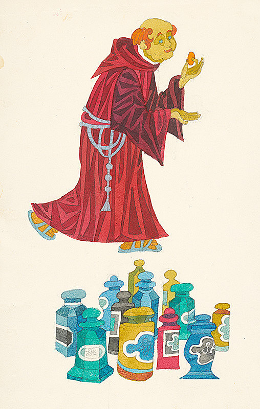 Miroslav Cipár - Dunajská kráľovná - Čert a mních