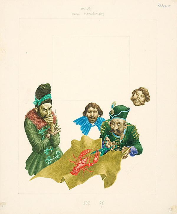Albín Brunovský – Rak krajčírom