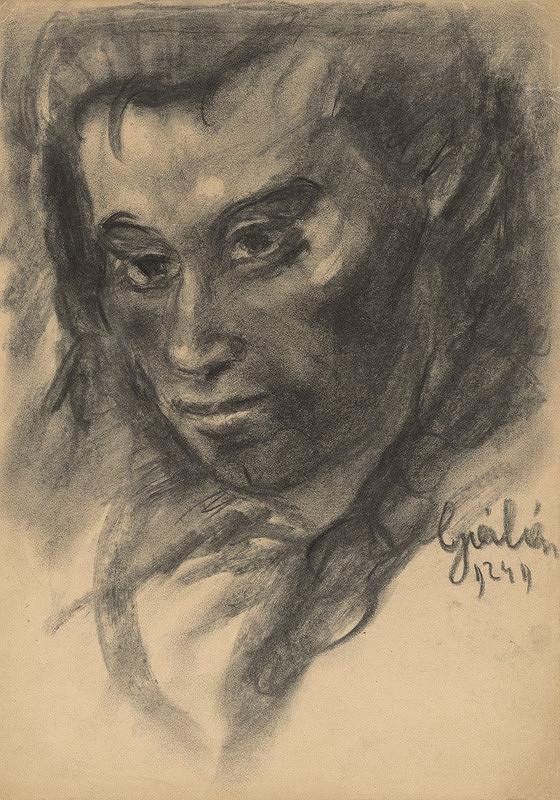 Július Flache – Hlava ženy II.