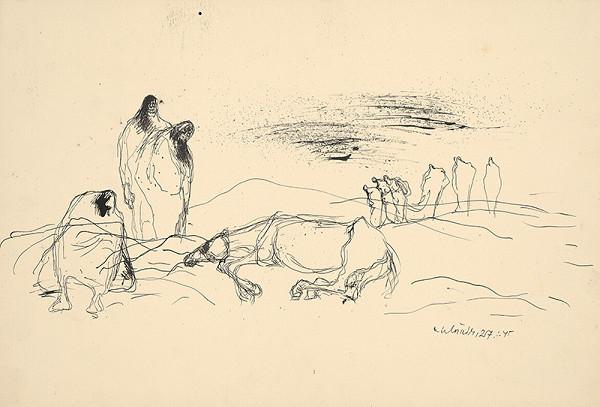 Vincent Hložník - Nad mŕtvym koňom