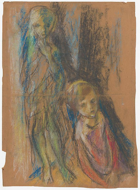 Vincent Hložník – Dve dievčence