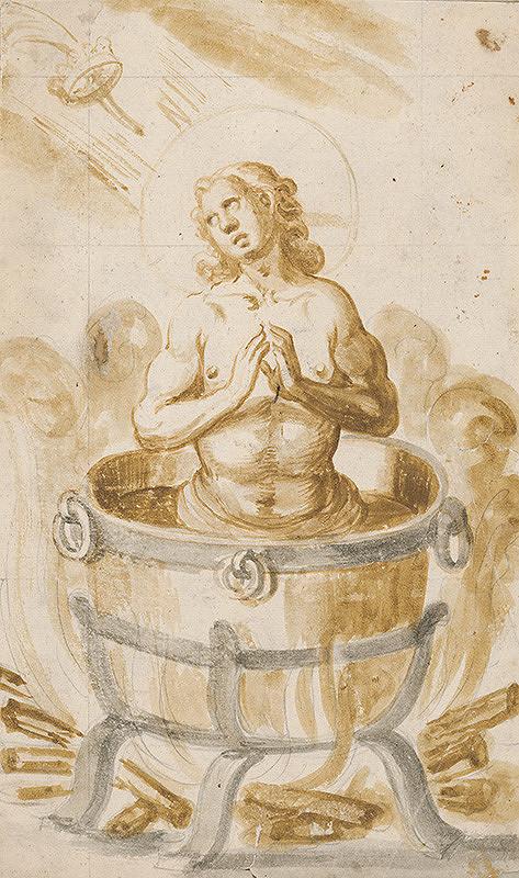 Stredoeurópsky maliar z 18. storočia – Sv.Ján v kotli