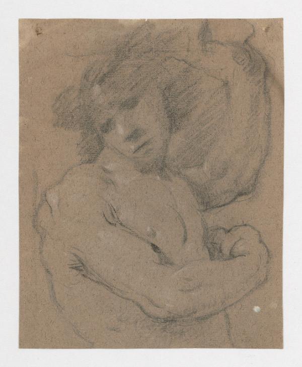 Stredoeurópsky maliar z 18. storočia – Štúdia mužského polaktu