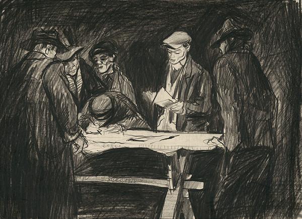 Václav Sivko – Podpisovanie socialistickej zmluvy