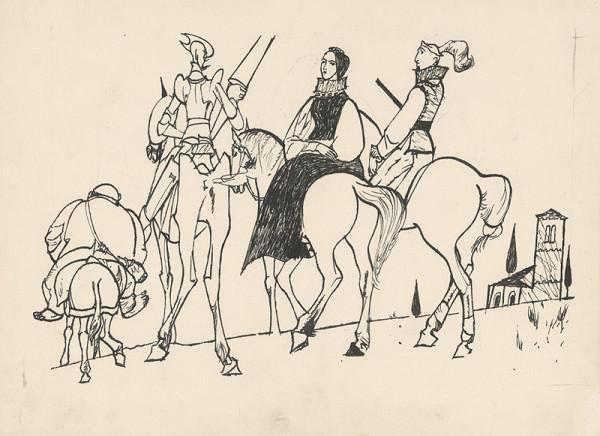 Vincent Hložník – Don Quijote odprevádza dámu